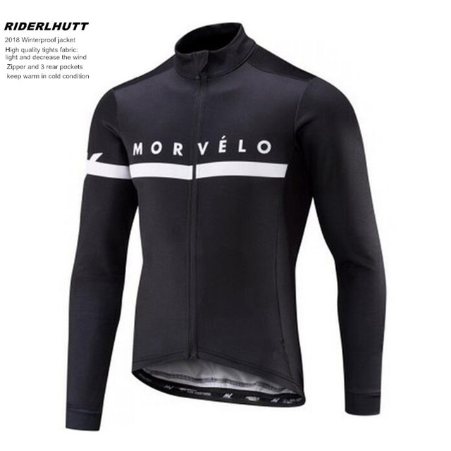 2018 morvelo Winter thermal fleece Cycling Jersey Men Clothing Long Sleeve  Bicicleta MTB Maillot Ropa Ciclismo Hombre Ciclismo 1fd5cccf2