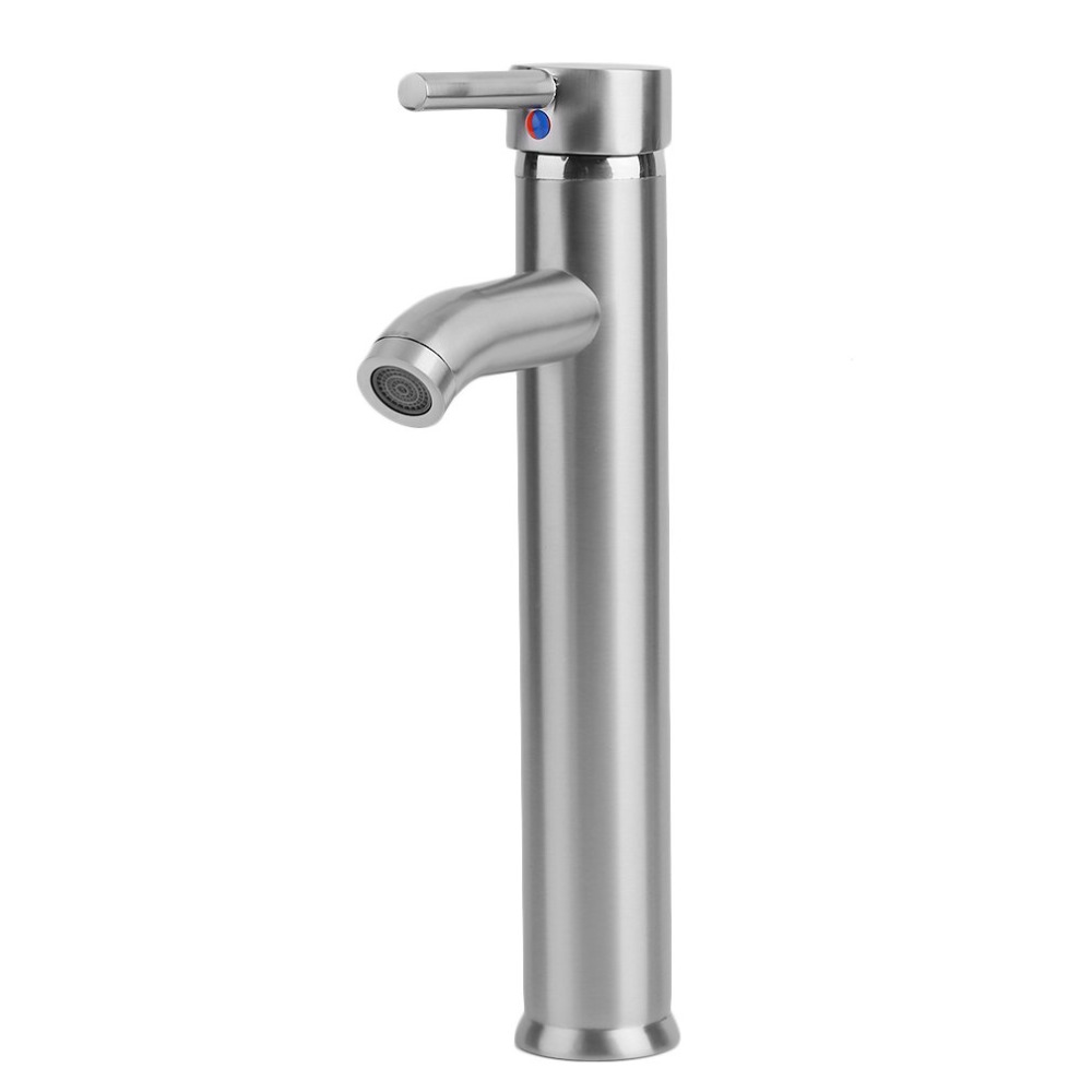 30cm Stainless Steel Tall Silver Bathroom Deck Mounted ...