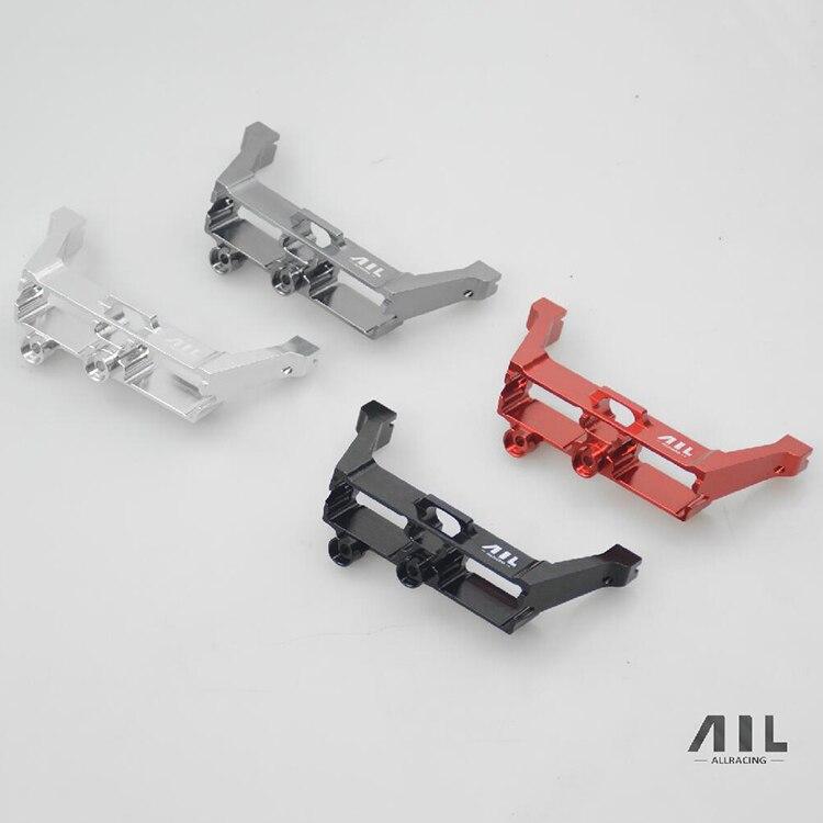 Alliage d'aluminium avant et arrière différentiel serrure Servo bras renfort mise à niveau métal pour RC 1/10 Traxxas Trx-4 TRX-4 (ail) voiture