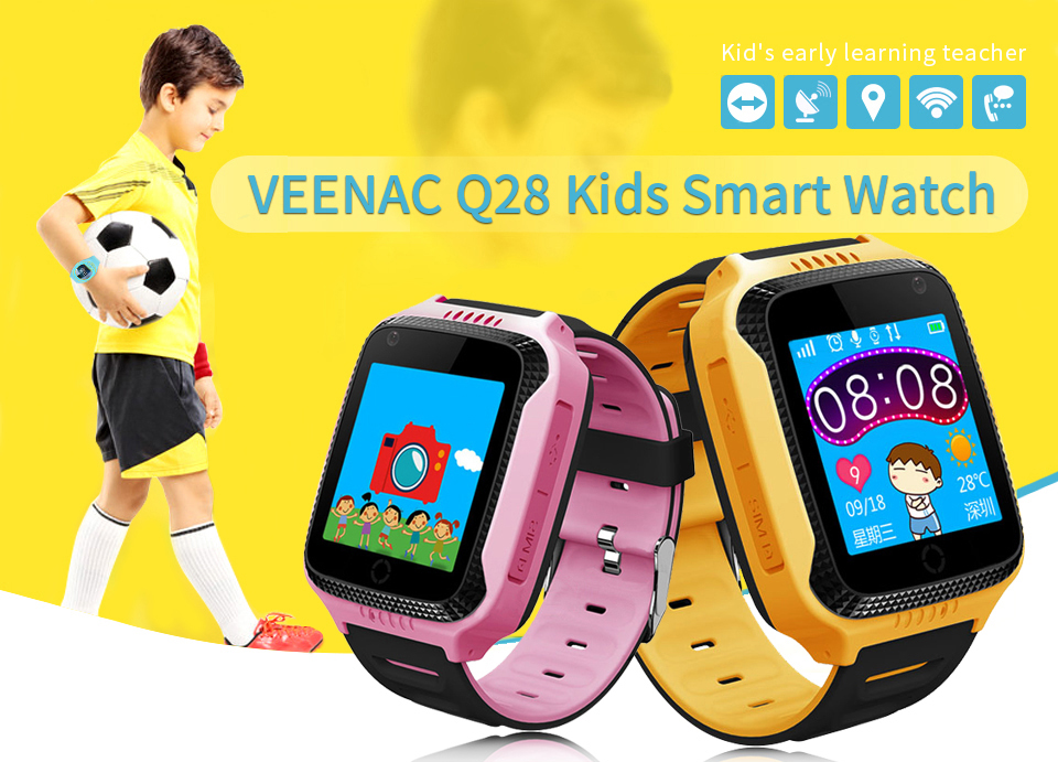 Benovel Q528 Y21 Children GPS Smart Watch With Flashlight Baby Watch 1.44inch SOS Call Location Device Tracker for Kid Safe watches (4)
