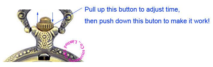 adjust time of pocket watch