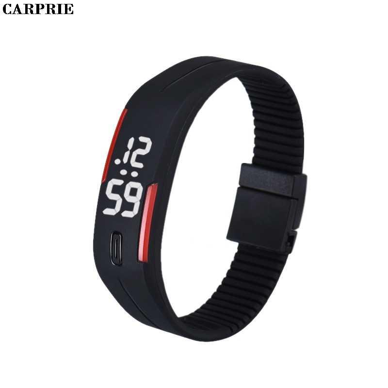 メンズレディースゴムは日付スポーツブレスレットデジタル腕時計 B & R 工場価格ドロップシッピング 35
