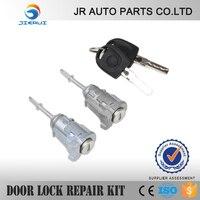 FOR VW PASSAT B5 1996 2006 Car Door Lock Vw Lupo 1998 2005 Set 2 Keys + Barrels Front Left And Right