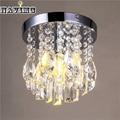 Candelabros de Cristal moderna Lámpara De Techo De Cromo Accesorio para Niñas de Cocina Habitaciones Dormitorios Comedor Baño