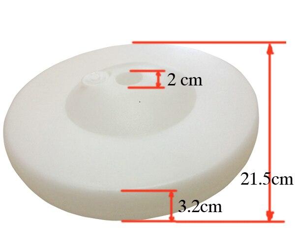 23x3cm Hole2cm Dik Balon Baza Plastik Balon Sütun Bəy Toy - Şənlik aksesuarları - Fotoqrafiya 4