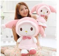 ¡ Venta caliente! 40cm. 50cm. 60 cm Kawaii Lindo conejo de peluche de juguete muñeca de PELUCHE de JUGUETE regalos de Boda regalo de cumpleaños de la muchacha Juguetes de los niños