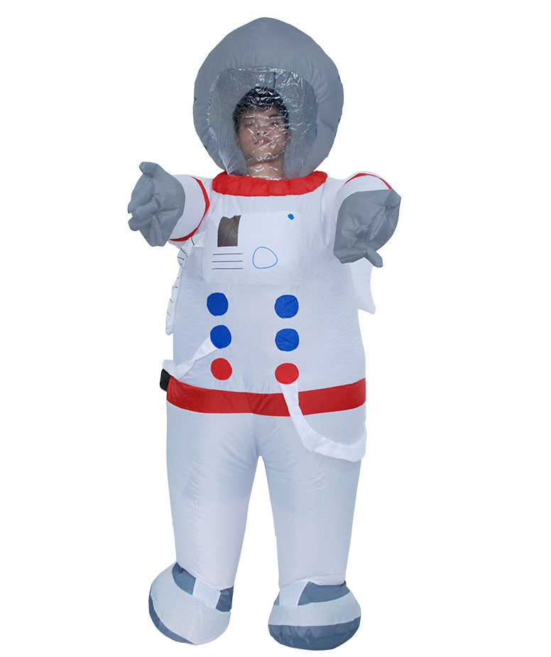 Adult Spaceman Space Astronaut Mens Fancy Dress Stag Party ...