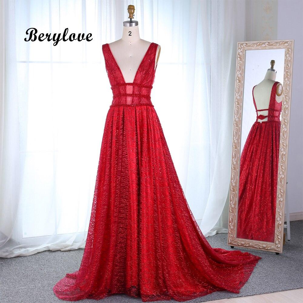 Red Graduation Dresses 2019