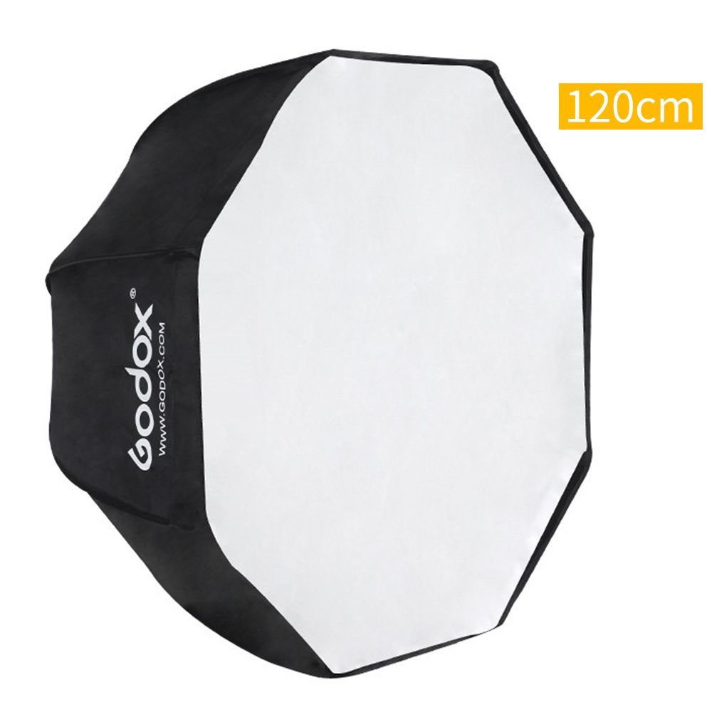 цена на Godox Portable Octagon Umbrella Softbox 120cm Umbrella Reflector for Strobe Studio Flash light Photography