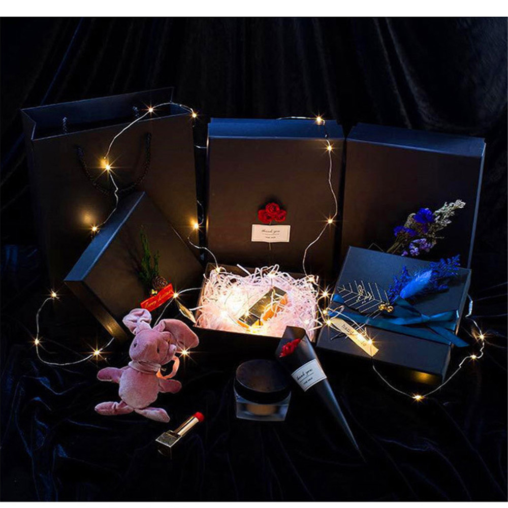 10PCS 2M Led fairy lights CR2032 battery operated button 20 LEDs String light Christmas wedding holiday party bottle decoation in Lighting Strings from Lights Lighting