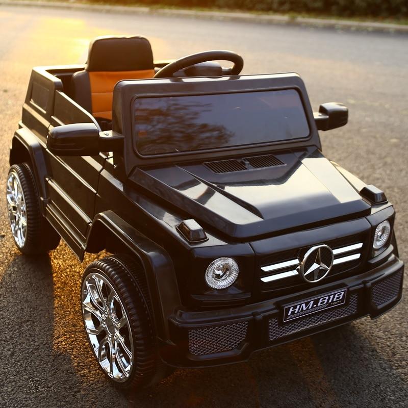 Bambini s 'off-road veicoli Dual-drive a quattro ruote elettrico bambino altalena di trasporto Giocattolo Del Bambino Batteria Auto con Telecomando di Controllo