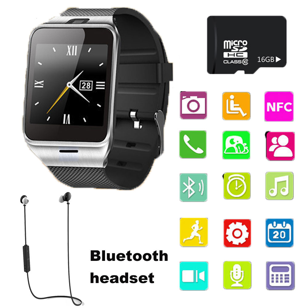 2017 New Smartwatch GV18 Bluetooth Smart Watch For Apple iPhone Samsung Android Phone Relogio Inteligente Smartphone
