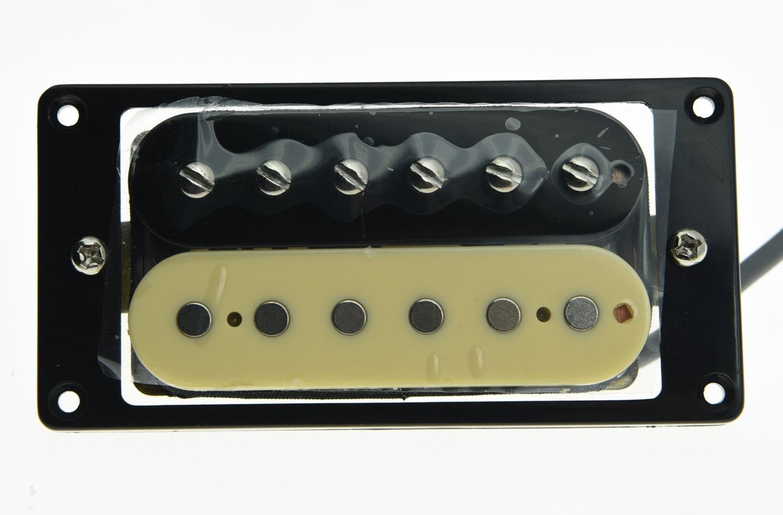 KAISH Alnico V Guitar Humbucker NECK Pickup 50's Vintage Sound Pickups Zebra Style vintage mini humbucker pickup