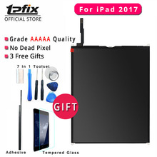 TPFIX Grade AAAAA LCD For iPad 2017 Screen Tested Well For iPad 2017 LCD Display A1822 A1823 Replacement With Tool Kit Glass цена