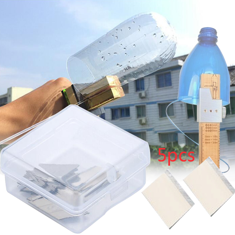 5Pcs Effective Plastic Bottle Cutter Machine Cutting Blade Accessories Rope Tools Durable Cutter Knife For DIY Craft