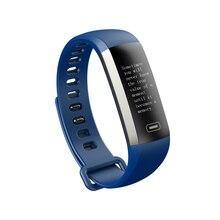 Модные Смарт-фитнес браслет нажмите сообщение Сенсорный экран Смарт-браслет Приборы для измерения артериального давления Пульс кислорода в крови мониторинга полосы