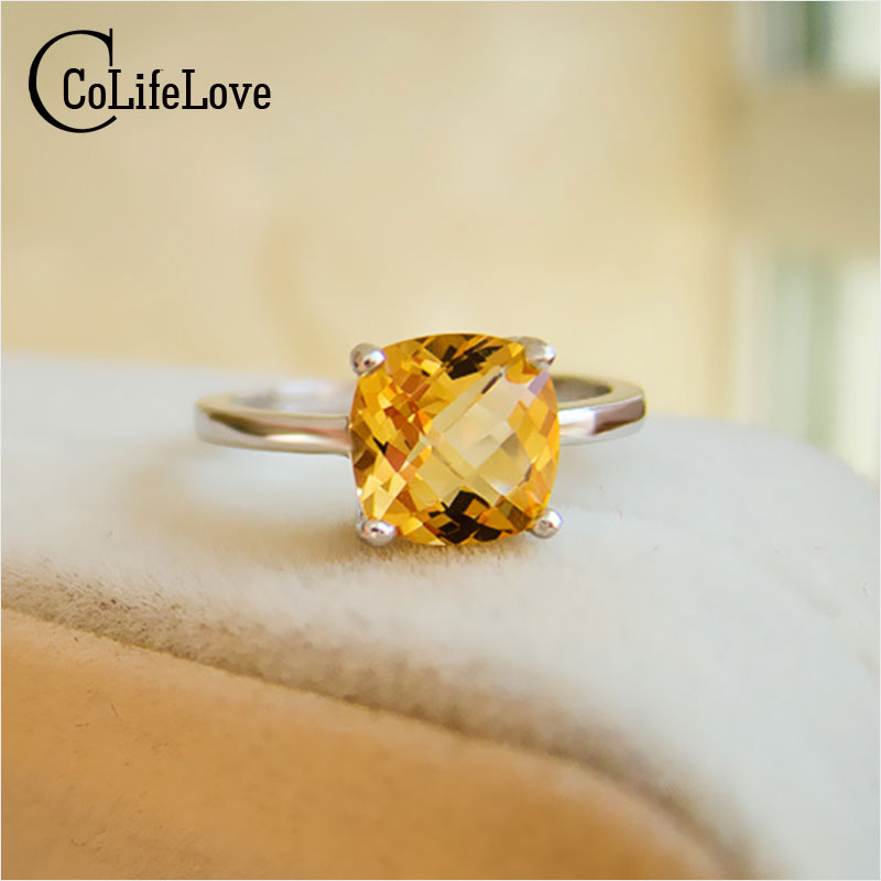 jensen yellow w c gold savannah citrine ring georg products rings