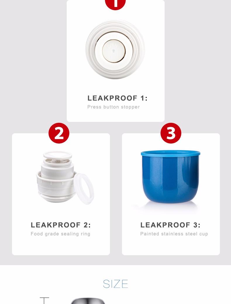 leak proof thermos
