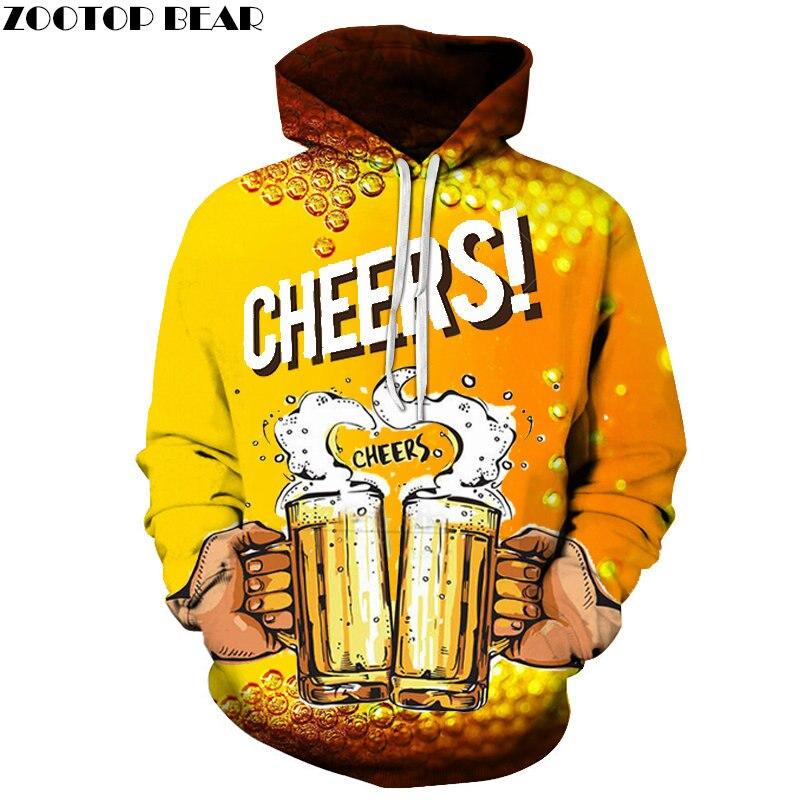 Friends Cheers Party 3D Printed Spring Casual Hoody Sweatshirt Men Tracksuit Hoodie Pullover Streetwear Coat DropShip ZOOTOPBEAR