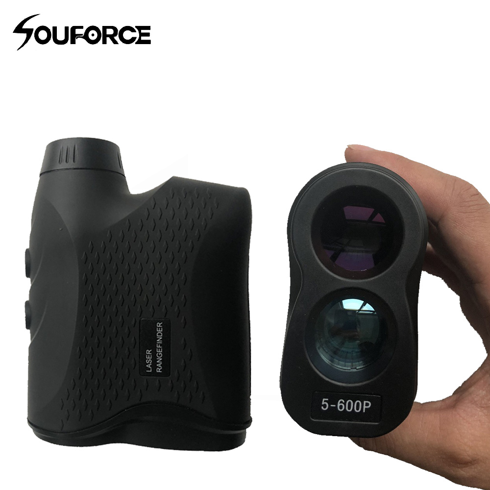 6X Monocular Telescope Laser Rangefinder 600m Laser Distance Meter Golf hunting laser Range Finder Measure sports цена