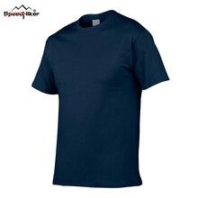 2ef6881fc5548 Europa tamaño 24 colores 100% algodón camiseta hombres Color sólido 2018  cómodo y Casual hombres negro blanco Tops camisetas tee.