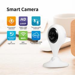 Беспроводная ip-камера wifi 1080 P Камера Наблюдения Ночного Видения двухсторонняя аудио функция обнаружения движения CCTV камера
