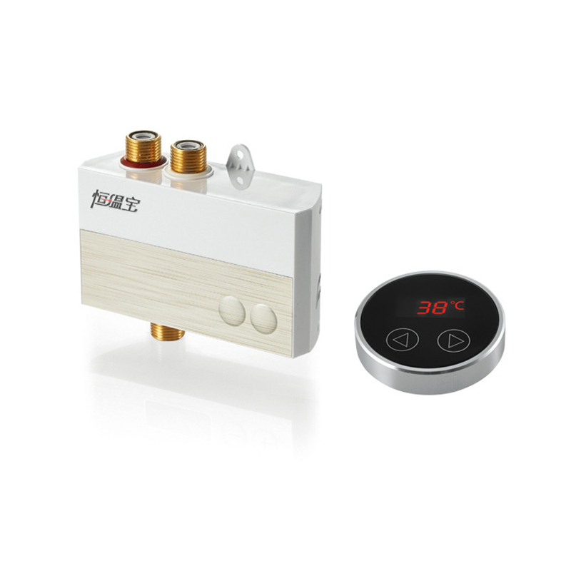 Купить с кэшбэком LCD Touch Thermostat Temperature Controller Panel Digital Thermostatic Shower Mixer Faucet Panel Thermostatic Bath Mixer Conrtol