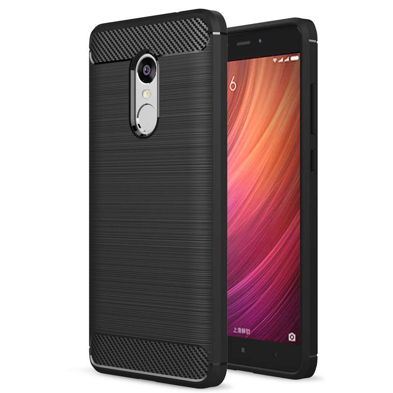 For Xiaomi <font><b>Redmi</b></font> <font><b>Note</b></font> 4 <font><b>Case</b></font> On Xiaomi <font><b>Redmi</b></font> <font><b>Note</b></font> <font><b>4x</b></font> Cover <font><b>Xiomi</b></font> <font><b>Redmi</b></font> Note4 Note4x Silicone Mix Hybrid Protective Shell image