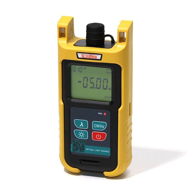 FTTH FTTx оптического волокна источник света kls-35-s ручной типа оптоволоконного кабеля Тесты инструменты w/SC + fc разъем используется с Мощность ме...