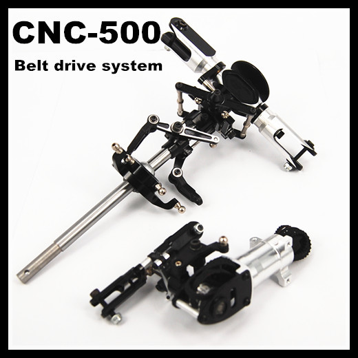Align 500 CNC Metal Main Rotor Head set + Tail Upgrade Assembled(Belt drive system) Trex Align 500 RC Helicopter Parts все цены