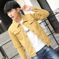 Spring And Autumn Season New Pattern Loose Coat Youth Korean Trend Self Cultivation Jacket On Clothes