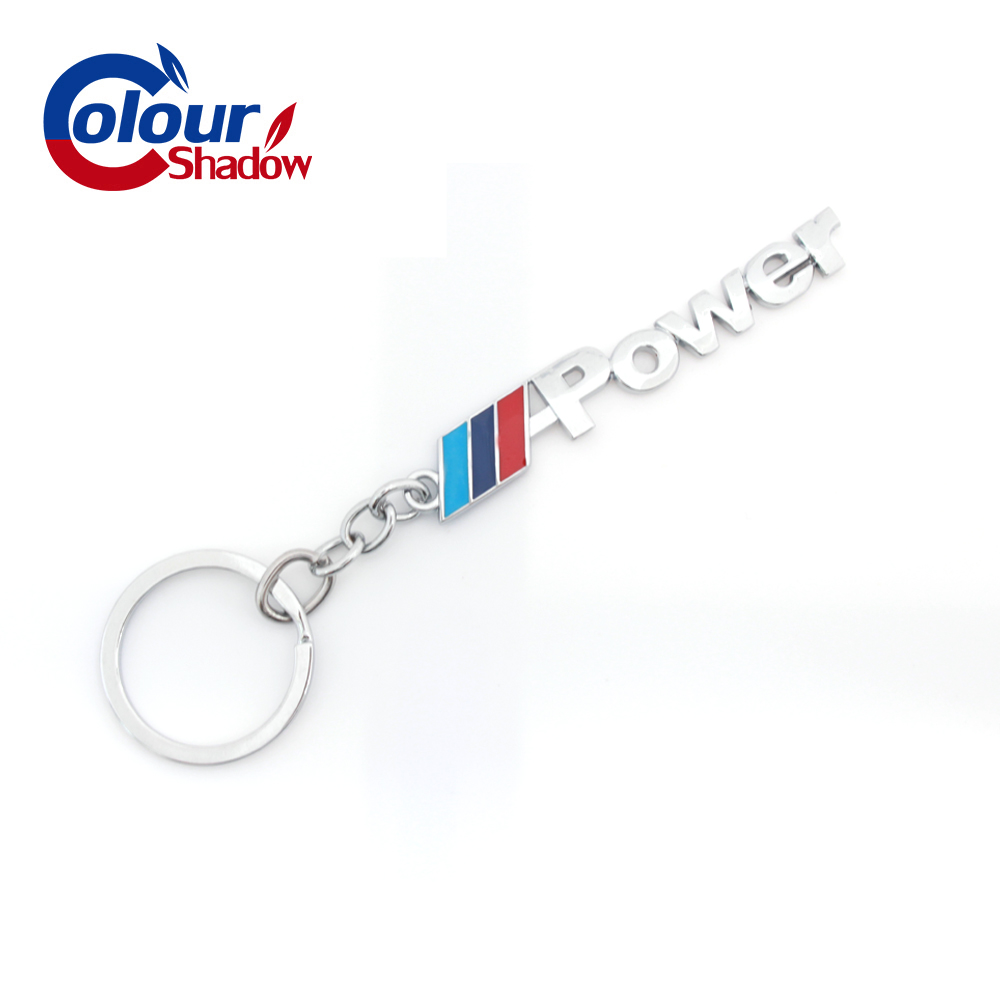 1Pcs Key Ring Auto Key Chain <font><b>Car</b></font> Keyring <font><b>Keychain</b></font> <font><b>For</b></font> <font><b>BMW</b></font> M 3 5 Power Performance X1 X3 X5 X6 E46 E39 E36 <font><b>Car</b></font> <font><b>Styling</b></font> Pendant image