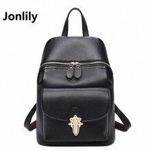 Jonlily 2017 новое прибытие мода женщины рюкзак новый весной и летом студенты рюкзак женский Корейский стиль рюкзак-SLI164