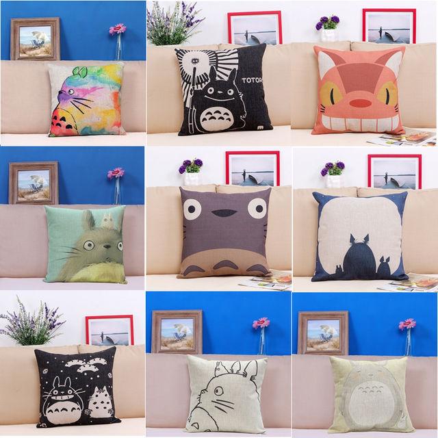 18×18 Inches Pillow Case Totoro (9 Design)
