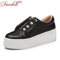 FACNDINLL New Women S Handmade Shoes Genuine Leather Flats Shoes Lacing Mother Shoes Woman Loafers Soft