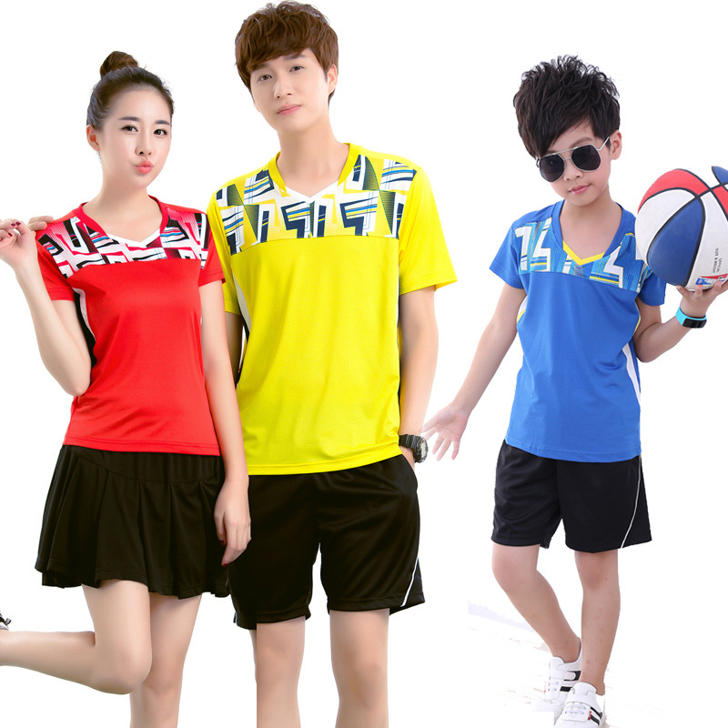 Tracksuit Shirts Badminton-Shirt Table-Tennis Shuttlecock Athletic Sports Men Women title=