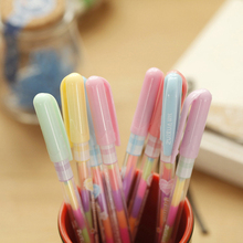 8psc kawaii pen Change Pen Paper Paint Pens Pencils Writing Markers Highlighters Kids Painting Gift office&school supplies
