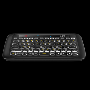 Image 3 - AVATTO Russian,English H20 Full Touchpad Backlit Mini Keyboard with 2.4G Wireless IR Remote Control for Smart TV Android Box PC