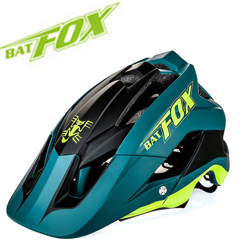 Bike Helmet Molding DH Ultra-Light Overall Bat-Fox New Mtb 7-Colour Casco-Ciclismo High-Quality title=