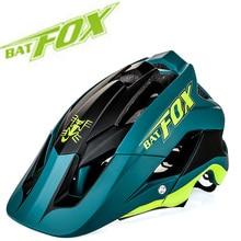 2019 new overall molding bike helmet ultra-light high quality mtb casco ciclismo 7 colour BAT FOX DH AM