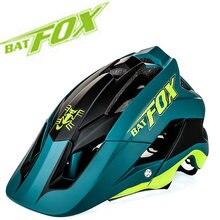 2020 nova moldagem geral capacete de bicicleta ultra-leve capacete de alta qualidade mtb capacete de bicicleta casco 7 cores batfox dh am