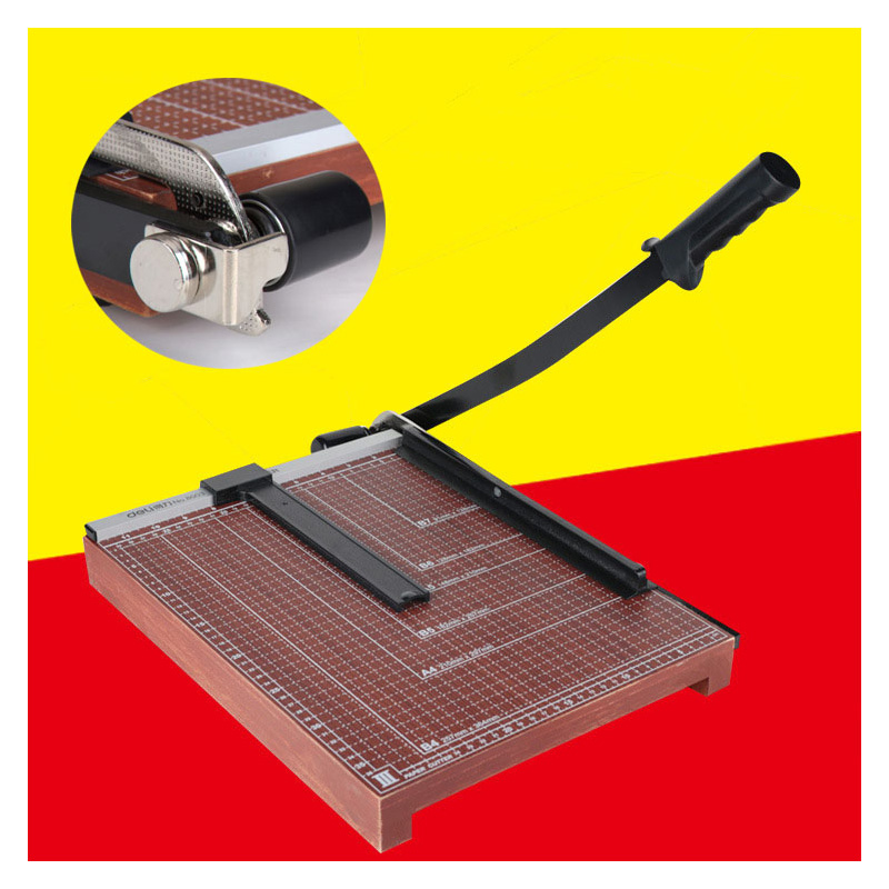 A4 Paper Cutter Trimmer Guillotine Ruler Precision Photo Portable Scrapbook Trimmers Cutter  Industrial Grade Wooden Product