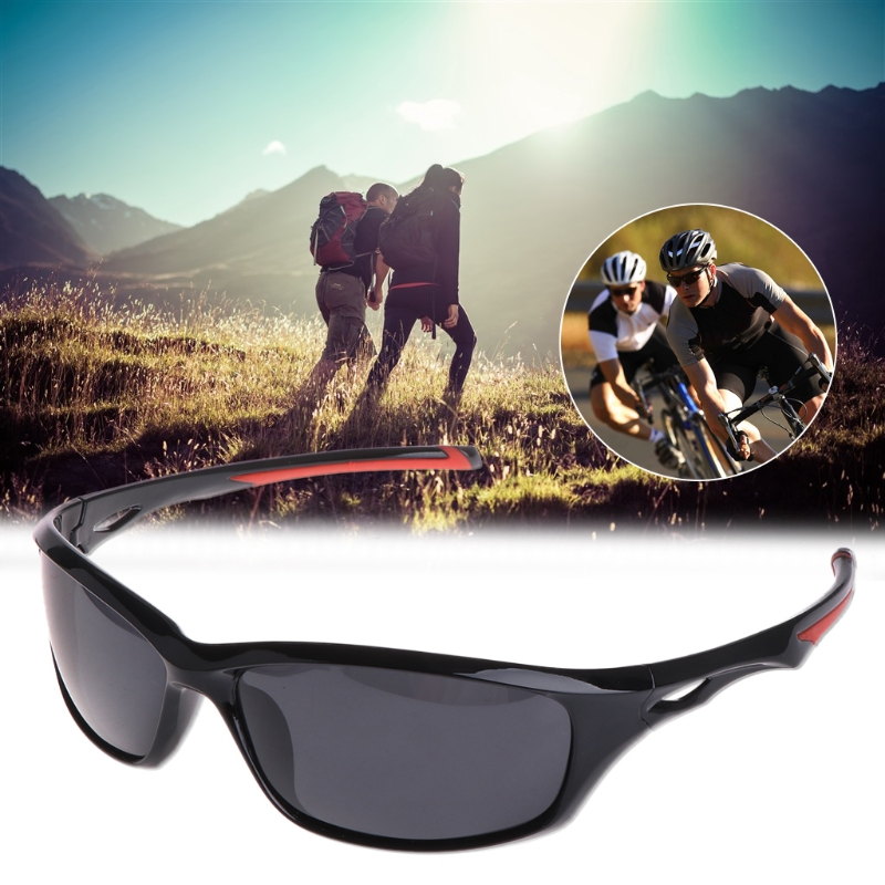 OOTDTY Glasses Fishing Cycling Polarized Outdoor Fishing Sunglasses Travel Sport UV400 For Men Driving Cycling Glasses