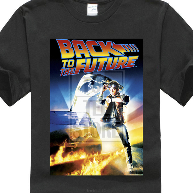 b3d2cfe81 2017 New Cool Back To The Future Vintage Movie Poster 3D Printed Men's T  Shirts High Quality Short Sleeve Tee