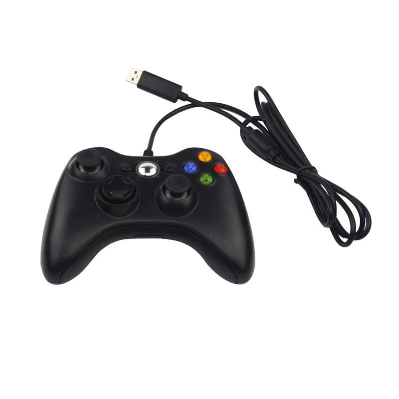 USB Wired Game Controller Shaking Gamepad Joypad Joystick For PC Computer Laptop for Raspberry Pi 3