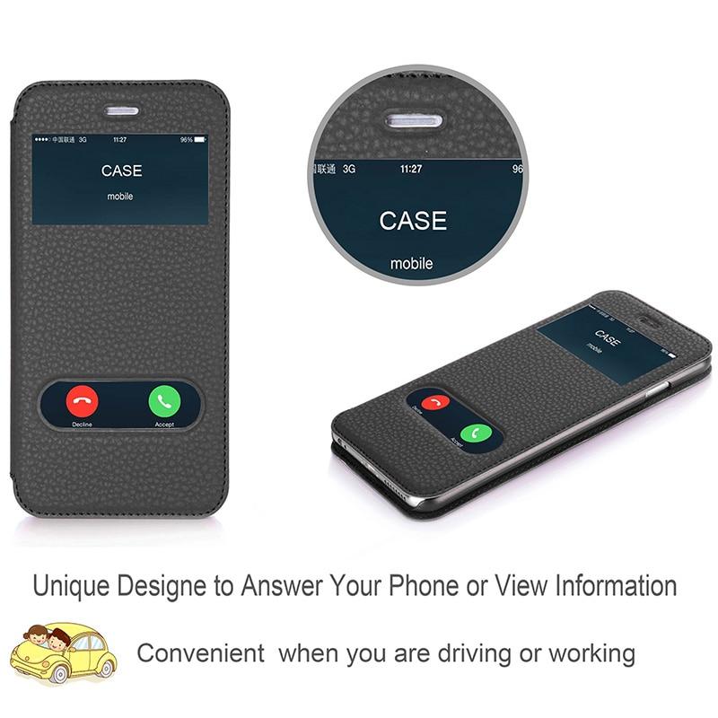 Θήκη για Apple iPhone 6 Plus & iPhone 6S Plus Luxury PU - Ανταλλακτικά και αξεσουάρ κινητών τηλεφώνων - Φωτογραφία 3
