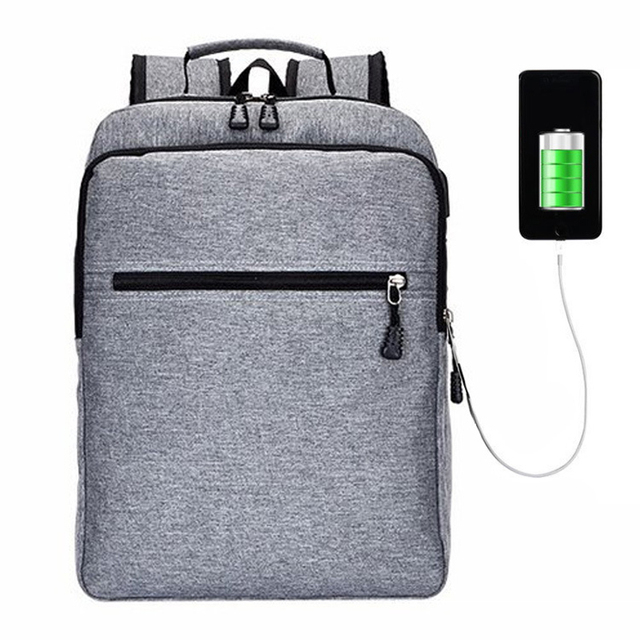 2019 USB Charge Anti Theft Backpack for Men Laptop Mens Backpacks Fashion Travel duffel School Bags Bagpack sac a dos B-040