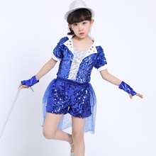 Boys and Girls Ballroom Dancing Clothing Modern Dance Costume Jazz Costumes Hip-hop Clothes