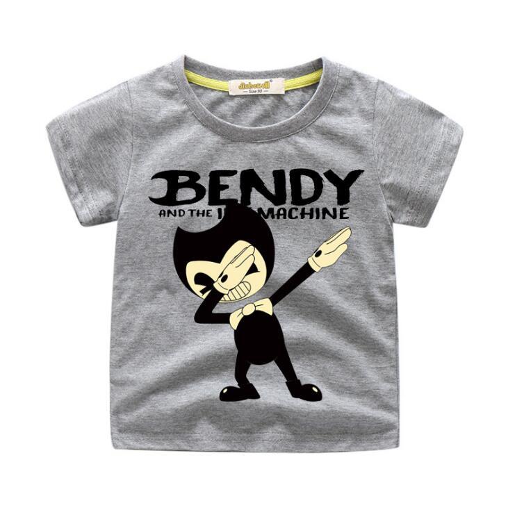 Детские футболки с принтом даб бенди, одежда футболки для мальчиков, топы, костюм футболка для девочек, одежда детская летняя футболка для м...
