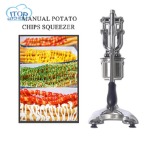 Stainless Steel Potato Manual Squeezer Potato Vegetable Mashing Press Juicing Fruit Puree Make Noodle Maker Machine Up to 30cm цена